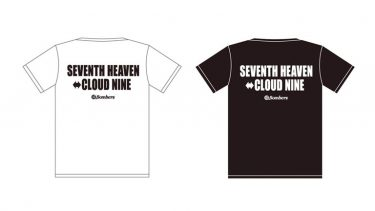 「SEVENTH HEAVEN ⇔ CLOUD NINE・限定オリジナルTシャツ」クラウドファンディング・リターン④
